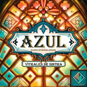 Azul: vitrales de Sintra