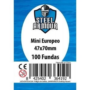 Fundas STEEL Mini Euro