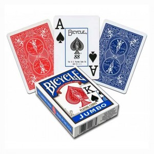 Baraja Poker Jumbo Bicycle