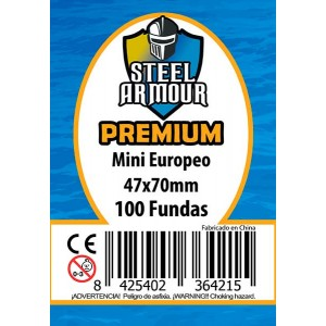 Fundas STEEL Mini Euro Premium