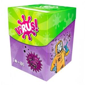 Virus! - Caja y fundas