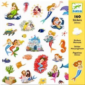 160 Adhesivos Sirenas