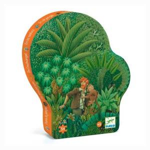 Puzzle Silueta En la selva...