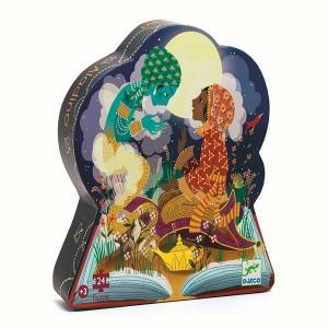 Puzzle Silueta Aladino 24...