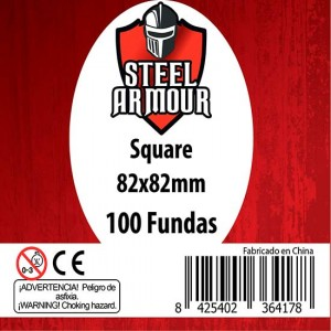 Fundas Steel Square 82x82