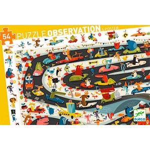 Puzzle Observación Rally de...