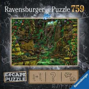 Puzzle Escape El templo