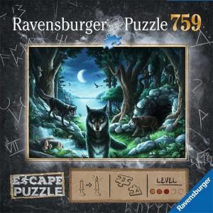 Puzzle Escape La manada de...