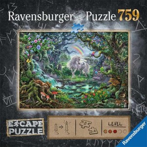 Puzzle Escape Unicornio