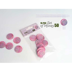 Set of Money valor 50 (10...