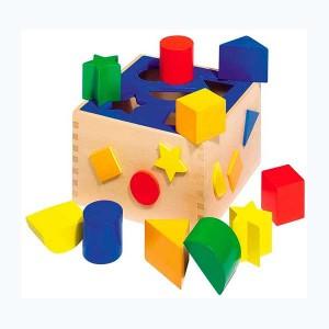 Caja de formas 10 piezas