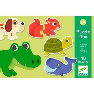 Puzzle Duo Animales