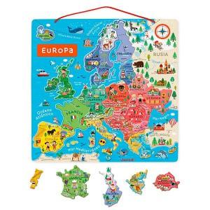 Puzzle magnetico Europa