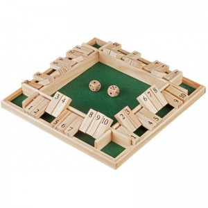 Shut the box 10 - 4 jugadores