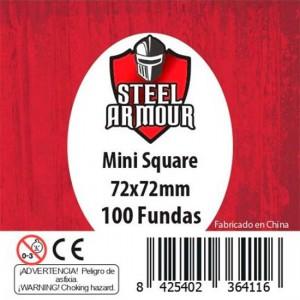 Fundas Steel Mini Square 72x72