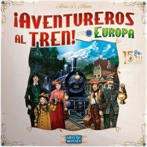 Aventureros al tren Europa...