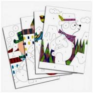 Arenas Coloreadas - Panda y sus amigos