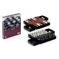 Ajedrez, Damas, Backgammon Magnético
