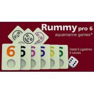 Rummy Pro 6 Aquamarine