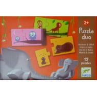 Puzzle Duo Mama y Bebé