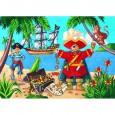 Puzzle Silueta Pirata 36 piezas
