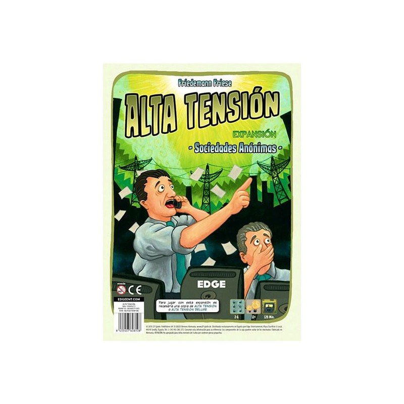 Alta Tensión - Sociedades Anónimas + Collector Box 2