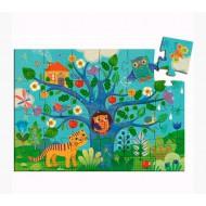 Puzzle Silueta Buho 24 piezas