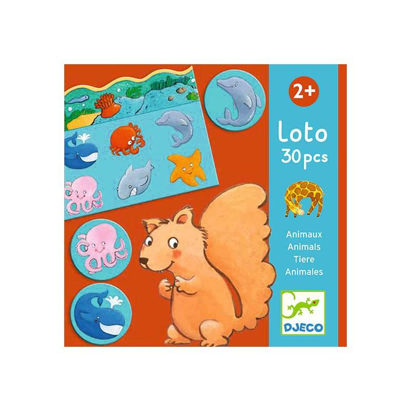 Loto Animales - 30 piezas