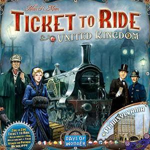 Aventureros al tren - Reino Unido y Pennsylvania