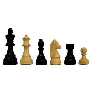 Piezas de Ajedrez Classic Staunton 5 negro/blanco, madera