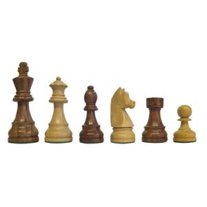 Piezas de Ajedrez Classic Staunton 5 marron/blanco, madera