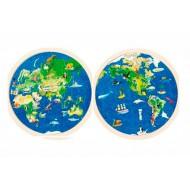 Puzzle Circular Mundo