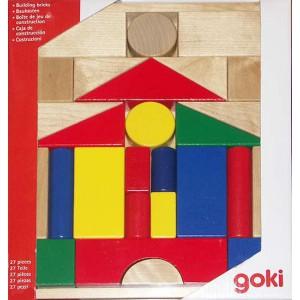Caja de construcción 27 Piezas Goki