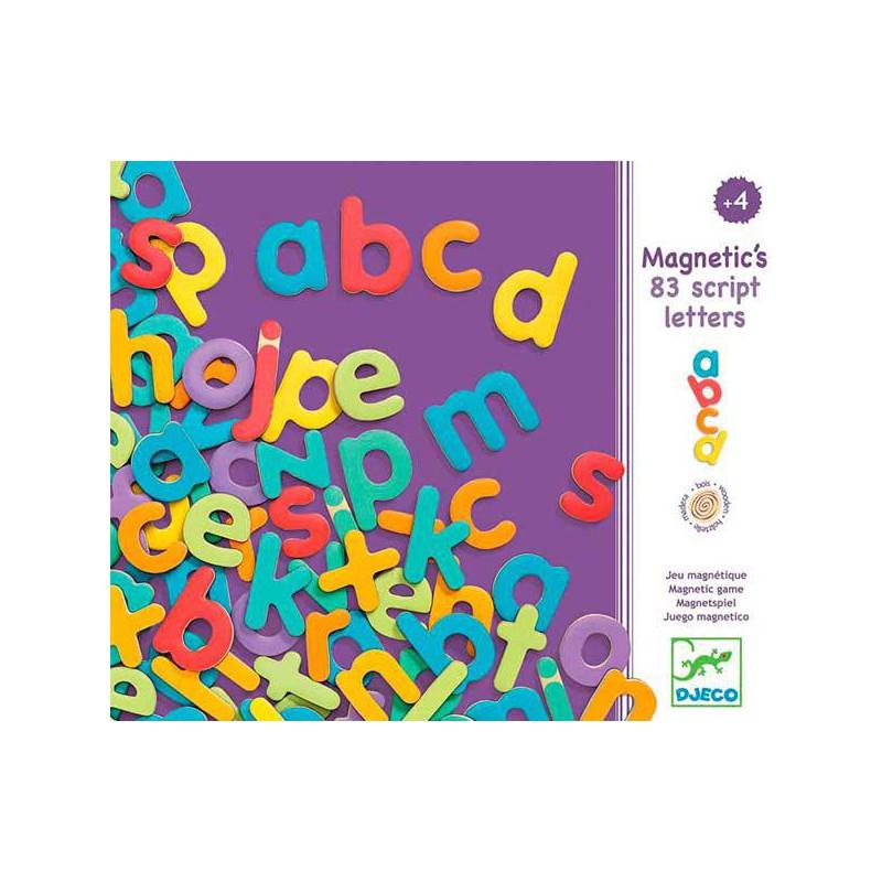 Magnetic's 83 letras minúsculas