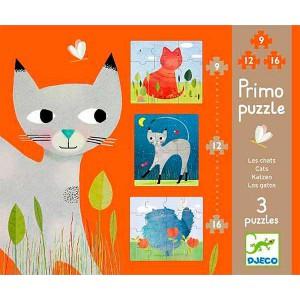 Primo Puzzle Gatos