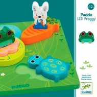 Encajable 123 Froggy