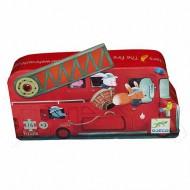 Puzzle Silueta Camión de bomberos