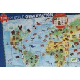 Puzzle Observación Animales del Mundo