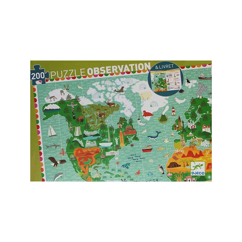 Puzzle Observación Vuelta al Mundo