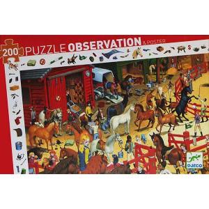 Puzzle Observación Equitación - 200 piezas