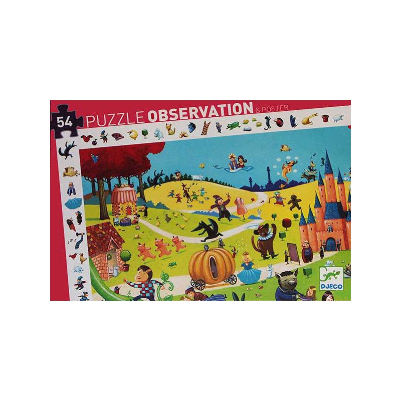 Puzzle Observación Cuentos - 54 piezas
