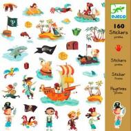 160 Adhesivos Piratas