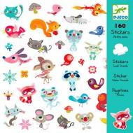 160 Adhesivos Amiguitos