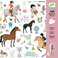 160 Adhesivos Caballos