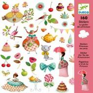 160 Adhesivos Te de las Princesas