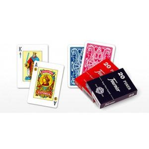 Baraja Poker Español nº20 Fournier- 55 cartas