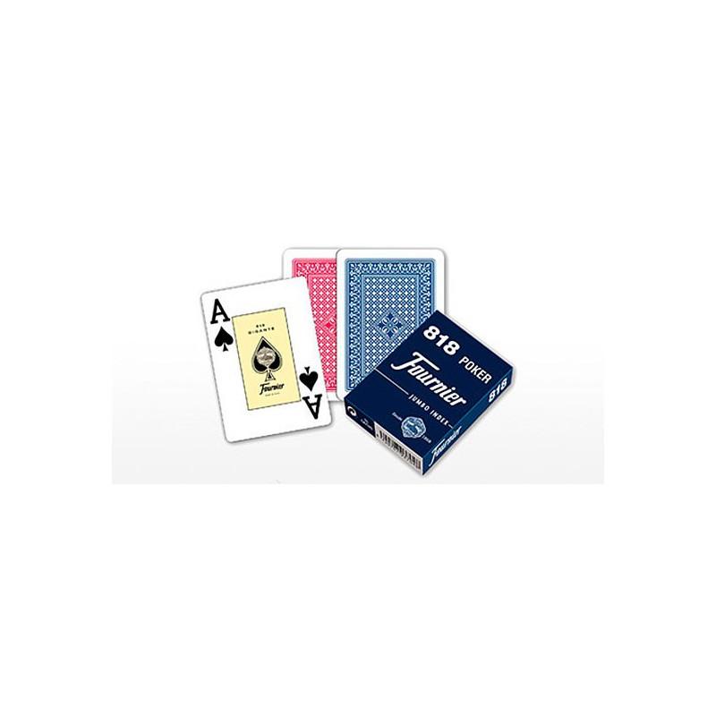 Baraja Poker 818 Fournier - 55 cartas