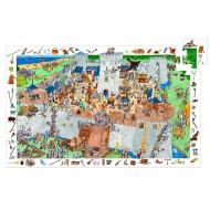 Puzzle Observación Castillo - 100 piezas