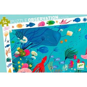 Puzzle Observación Acuatico - 54 piezas