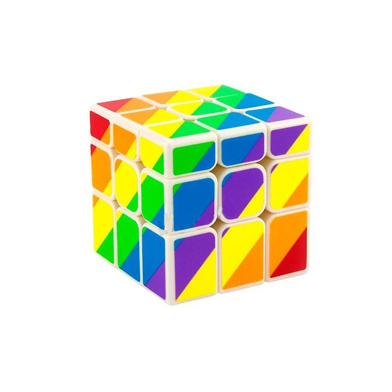 Cubo Moyu Unequal Arcoiris 3x3